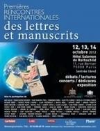 Paris capitale mondiale des lettres et manuscrits   Patrimoine écrit culturel de valeur   Scoop.it