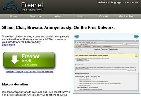 The Freenet Project | Education Library and More | Scoop.it