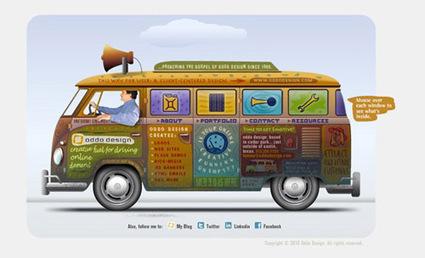 50 Beautiful & Enticing Designers Websites   Website designs   Scoop.it