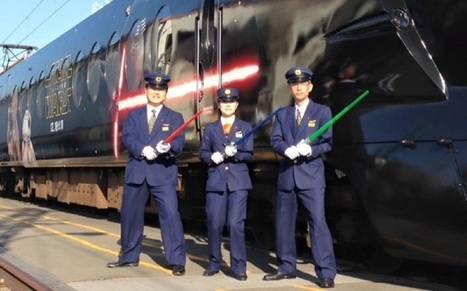 Le train Star Wars VII au départ d'une gare japonaise ! | 694028 | Scoop.it