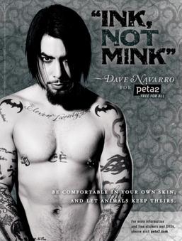 Dave Navarro PETA ads sexier than David Beckham's underwear photos? | Sex Marketing | Scoop.it