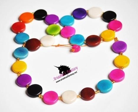 Ringo Necklace Set | Natural Organic Jewelry | Scoop.it