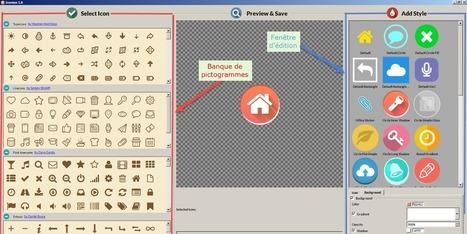 Heuristiquement: Créez vos pictogrammes sur mesure avec un logiciel gratuit | Espace des Solutions 2.0 | Scoop.it