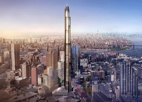 Plans unveiled for a SUPER-TALL tower in Brooklyn by SHoP | The Architecture of the City | Scoop.it