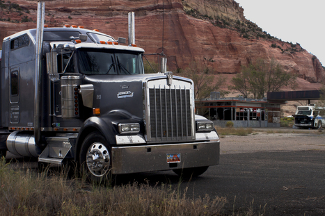 Hank O'Neill's 2000 Kenworth W900 | Truckers Daily | Scoop.it