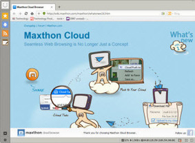 Maxthon Cloud Browser   Proliferating Your Brand Values   Scoop.it