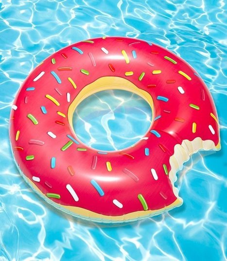 Gigantic Donut Pool Float | Kitsch | Scoop.it