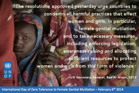 La ONU demanda el fin de mutilación genital femenina | Genera Igualdad | Scoop.it