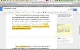Hours gone by… but I'll never stop: Google docs improve the feedback experience   Starr Sackstein, MJE, NBCT   Using Google Drive in the classroom   Scoop.it