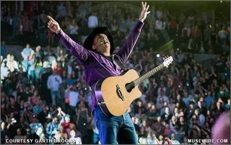 Garth Brooks is First Country Artist to Earn SoundExchange Digital Radio Award | MuseWire | Neotrope News Network | Scoop.it