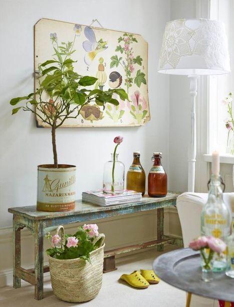 Enjoy the garden at home | Original Decoration | Decoration Ideas | Scoop.it