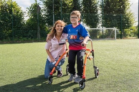 """10-year-old FRAME FOOTBALLER Luke discovers new skills with R82 gifted """"Cool"""" Crocodile Walker 