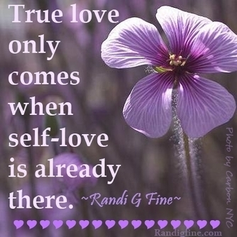 Self-Love/True Love Picture Quote | Learning to Live, Love and Forgive | Scoop.it