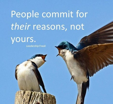 How to Motivate Others to Commit | Leadership Primer | Scoop.it