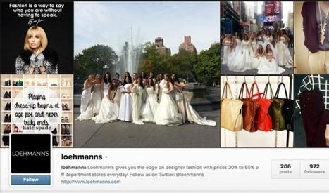 Growing Your Brand on Instagram: Tips From Loehmann's - hip genius   Instagram Stats, Strategies + Tips   Scoop.it