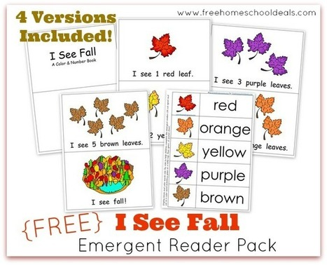 70+ Free Fall Learning Resources + Activities For Kids | Primary kids | Scoop.it
