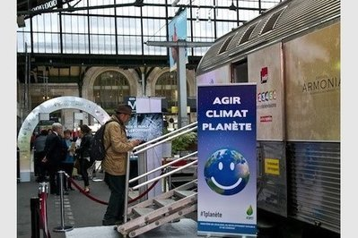 Escale à Toulouse Matabiau pour le Train du Climat, le 13 octobre | Toulouse La Ville Rose | Scoop.it