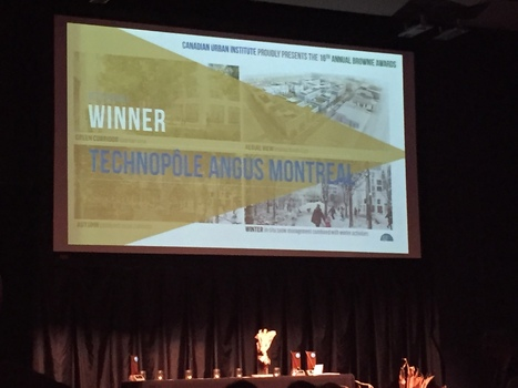 Gagnant du grand prix de l'Institut urbain du Canada | Social Entrepreneurship, Social Innovation | Scoop.it