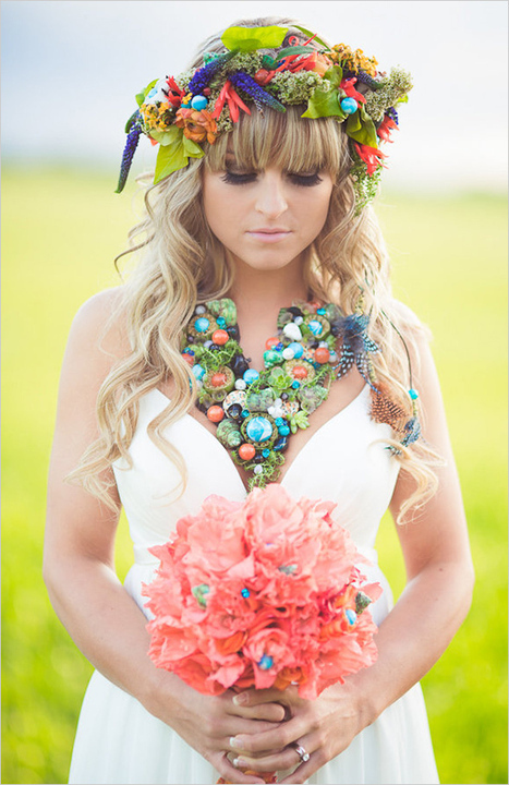 Colorful Bohemian Wedding Ideas | Wedding Inspiration and Planning | Scoop.it