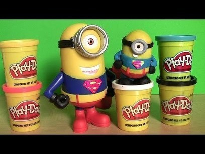 Minion Tim as Superman Man of Steel - Despicable Me Figure Papoy Play-Doh | Marketing | Scoop.it