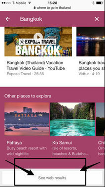 SEO alert: #Google overhauls its #travel search interface for mobile | Hospitality Webmarketing, social e distribuzione on line | Scoop.it