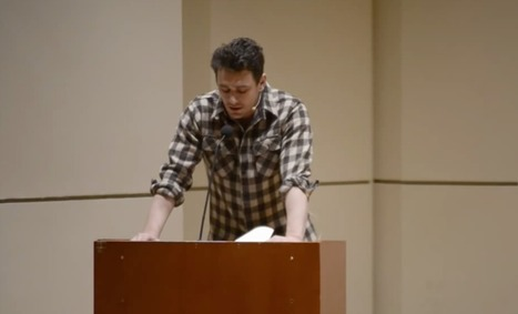 James Franco Reads 6 Short Poems from His New Collection | Random stuff (music&books&other) | Scoop.it