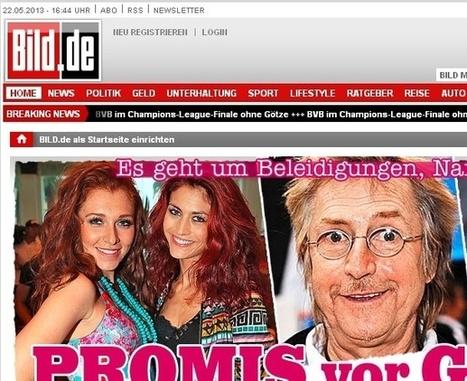 Le quotidien allemand Bild vers une formule semi-payante sur Internet | Les médias face à leur destin | Scoop.it