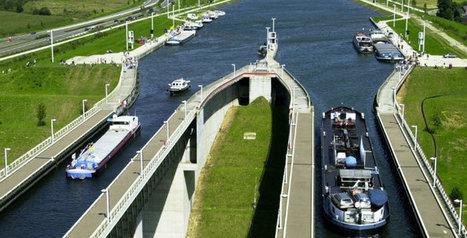 Les ascenseurs hydrauliques du Canal du Centre sont à nouveau opérationnels   Dialogue Hainaut   Scoop.it