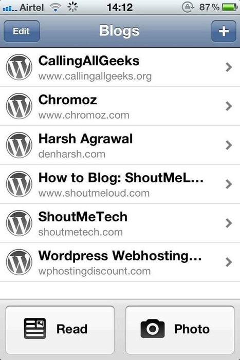 Must Have Blogging apps for iPhone [Paid & Free] | iPhone apps and resources | Scoop.it