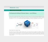 Website croc - The Buying And Selling Of Domain Names | Websitecroc | Scoop.it
