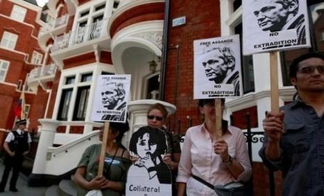 Somaiya Spins Assange Political Asylum Four Times, From Ecua