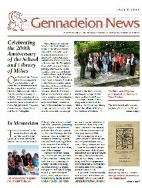 Gennadius Newsletter / Gennadius Library / The American School of Classical Studies at Athens | iEduc | Scoop.it