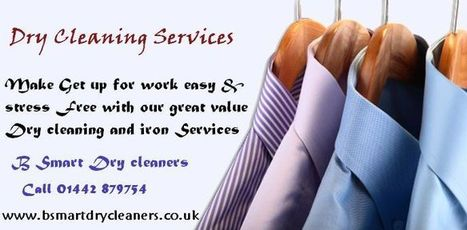 Dry cleaners Services | B Smart Dry Cleaners | Scoop.it