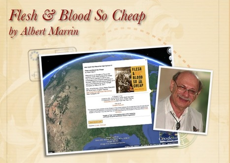 Flesh & Blood So Cheap by Albert Marrin | Google Lit Trips: Reading About Reading | Scoop.it