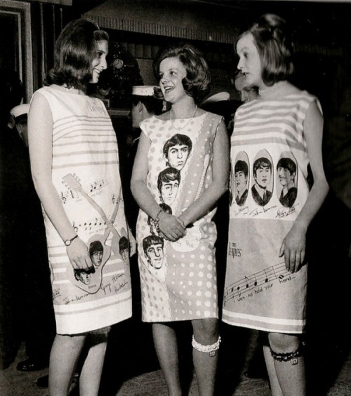 A Trio Of Beatles Babes | Sex History | Scoop.it