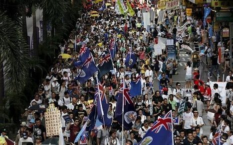 Hong Kong democracy campaigners demand return to British rule as first step to independence from China | CLOVER ENTERPRISES ''THE ENTERTAINMENT OF CHOICE'' | Scoop.it