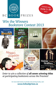 Win the Winners Contest 2013 › Events › BC Book Prizes   Galiano Island Books   Scoop.it