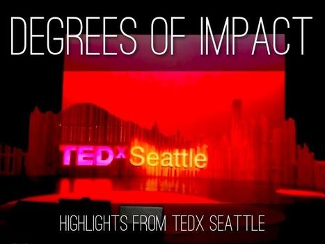 """TEDx Seattle 2013"" - A Haiku Deck by Catherine Carr | TEDxVailWomen | Scoop.it"