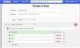 Kuizza. Pour faire des quizz et des qcm - Les Outils Tice | Les outils du Web 2.0 | Scoop.it