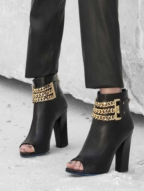 Loriblu Shoes Fall Winter 2015-2016 Collection with Straps Decoration | Le Marche & Fashion | Scoop.it