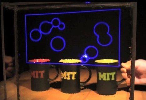 Nueva tecnología de pantallas transparentes del MIT da pie al HUD del futuro | LOLA Curiosity | Scoop.it