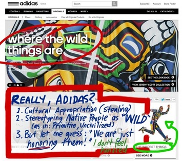 "Adidas Reveals ""Racial"" Designs Co-opting Culture 