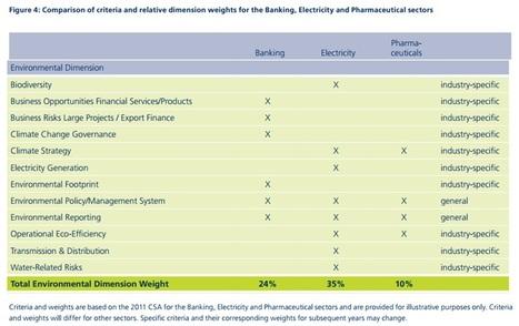 Dow Jones Sustainability Indexes | Nature + Economics | Scoop.it