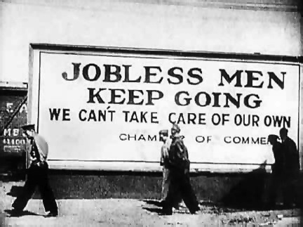 Primary Source #1: Photograph of Jobless Men | Hardships during The Great Depression | Scoop.it