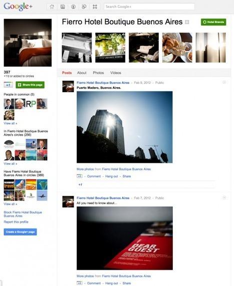 Google Plus for Hotel Marketing: The Quick Guide | Intégrateur Multimédia, secteur Hôtelier | Scoop.it