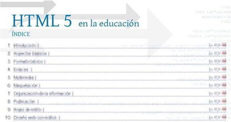 Curso sobre HTML5 online, gratuito y en español | Pedalogica: educación y TIC | Scoop.it