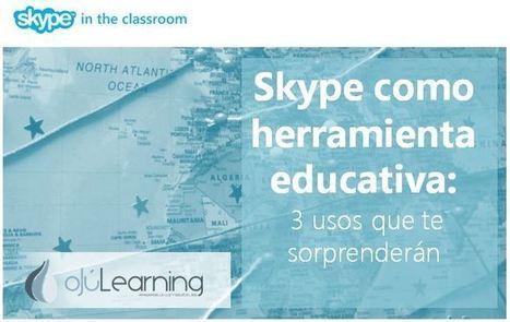 Skype como herramienta educativa: 3 usos válidos | LabTIC - Tecnología y Educación | Scoop.it