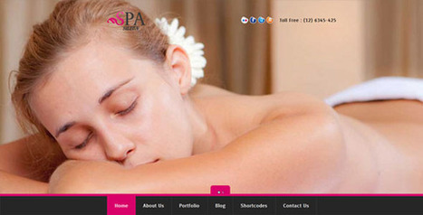 SPA SALON - Creative WordPress CMS Theme   Medical wordpress themes   Scoop.it