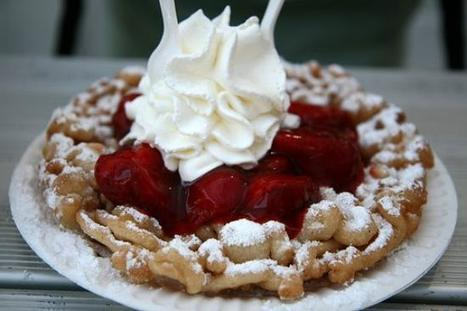 Funnel Cake with Strawberrie, Top Recipes, Traditional Recipe Ebook, recipe review | Healthy Recipes | Scoop.it