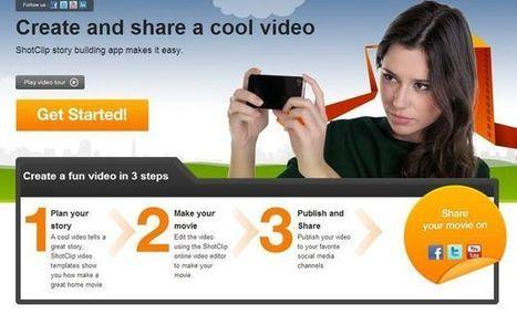 Shotclip, editor de vídeo online y gratuito muy fácil de utilizar | REMEDIO | Scoop.it